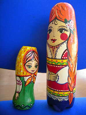 Матрёшка своими руками из бутылки